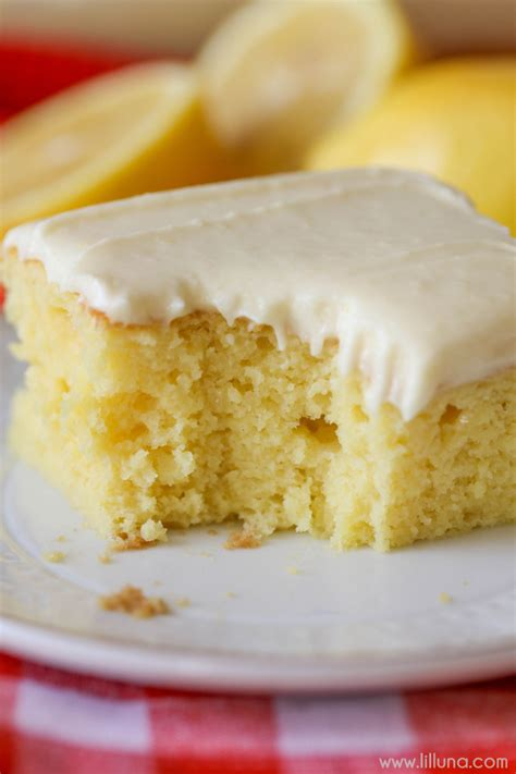 lemon sheet cake lil luna