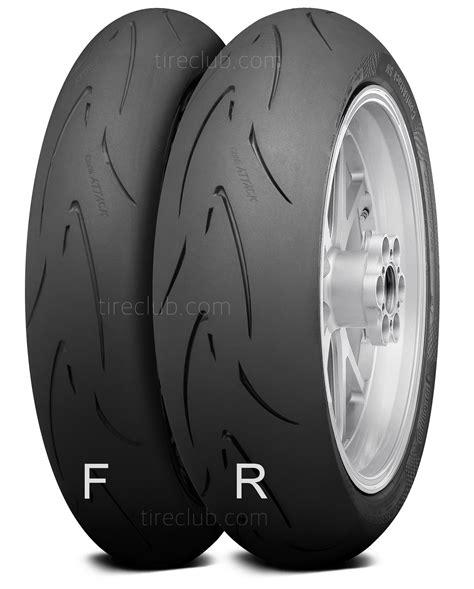 contiattack sm evo pneus de moto continental tireclub brasil