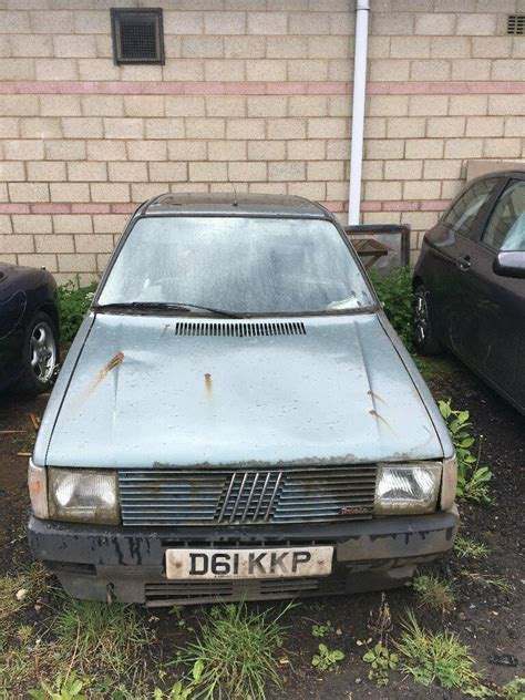 fiat uno turbo mk complete  abandoned  perth