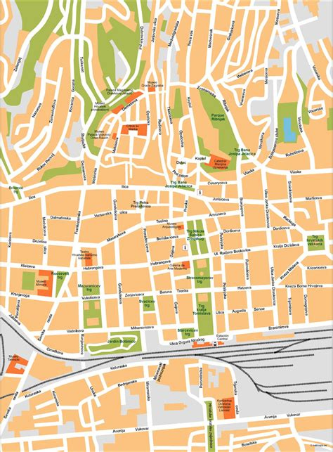 zagreb vector map netmaps mapas de espana  del mundo