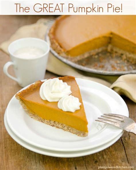 great vegan pumpkin pie vegan oil  soy