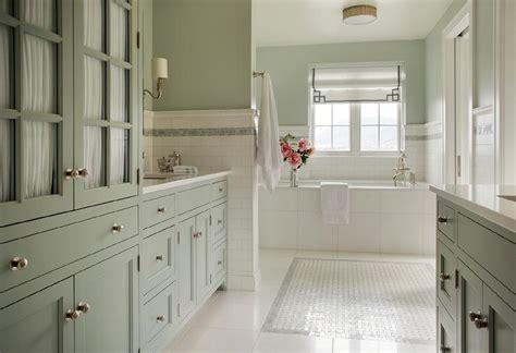 celadon green bathroom vanity  ann sacks blue celeste