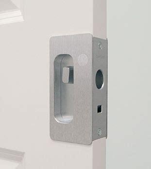 pocket door hardware ideas  pinterest pocket