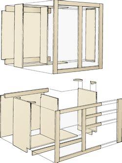 wooden kitchen cabinets building plans diy blueprints