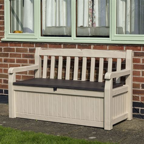 benches with storage outdoor wooden bench with storage