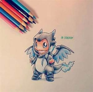 Cute Charmander Charizard X drawing | Cool Pokémon art ...