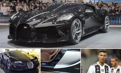 He has cr7 embroidered on the headrests of his. Cristiano Ronaldo Splashes £10m On Bugatti La Voiture ...