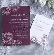 Vintage Plum Rose Elegant Wedding Invitation Cards Online EWI142 As How To Word And Assemble Wedding Invitations Philadelphia Wedding 2013 Wedding Trends Laser Cut Wedding Invitations ECINVITES COM Wedding Invitation IWI128 Wedding Invitations Online