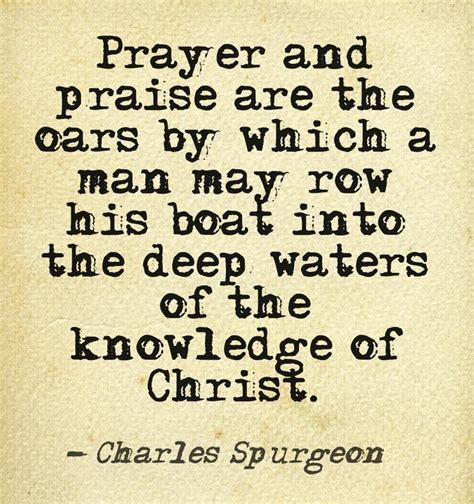 Spurgeon Quotes Charles Spurgeon Prayer Quotes Quotesgram
