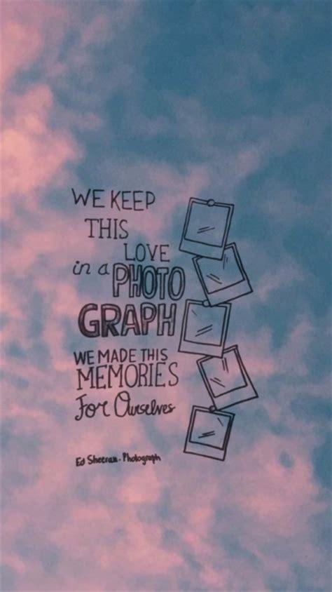 ed sheeran photograph lyrics tumblr
