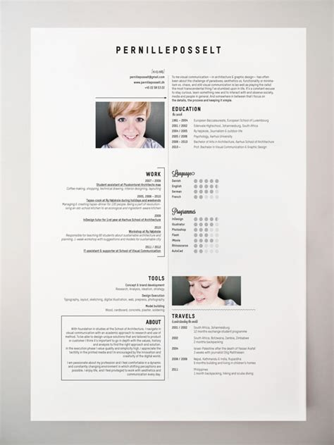 Cool Resume Layout by 40 Creative Cv Resume Designs Inspiration 2014 Web Graphic Design Bashooka