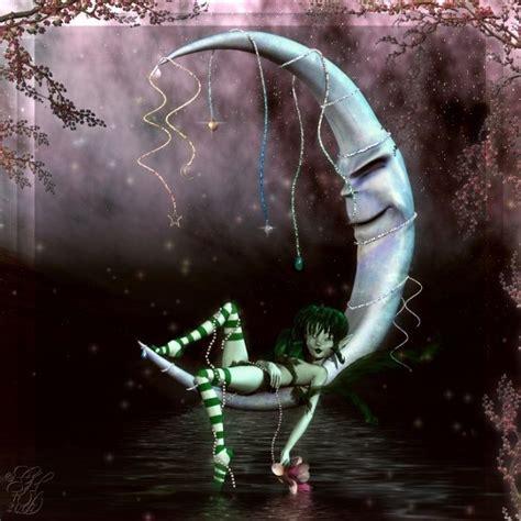 moonlight fairy fantasy backgrounds twitter facebook