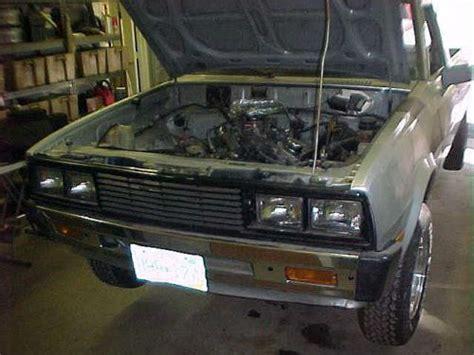 how cars engines work 1985 mitsubishi truck engine control buy used 1985 dodge d 50 mitsubishi mini truck project rust free v6 automatic in minneapolis