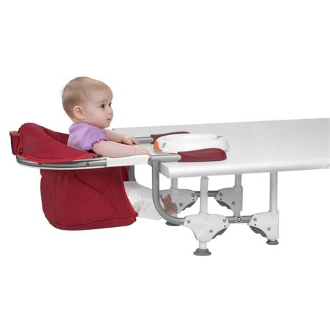 chaise bebe a fixer sur la table chicco siège de table 360 scarlet scarlet achat vente