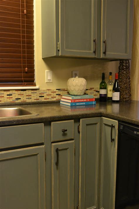 How To Paint And Distress Cabinets by How To Distress Painted Wood Furniture Or Cabinets For