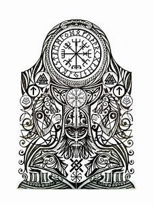 Dessin Symbole Viking : viking tattoo best pinterest tatouage viking tatouage et tatouage nordique ~ Nature-et-papiers.com Idées de Décoration