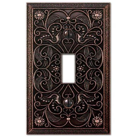 wall plate light switch plate outlet cover arabesque