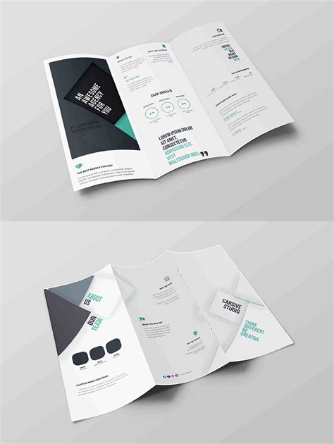 Free Tri Fold Brochure Template Downloads 2 by Free Tri Fold Brochure Psd Template Creativetacos