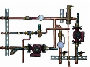 Hydronic Manifold Systems Radiant Heat Diagram