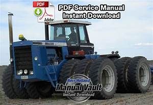 Ford Versatile 1156 Tractor Shop Service Manual