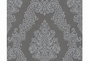 Tapete Muster Grau : livingwalls mustertapete elegance 2 vliestapete grau ~ Michelbontemps.com Haus und Dekorationen