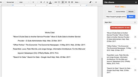 how to format an outline on docs for argument paper