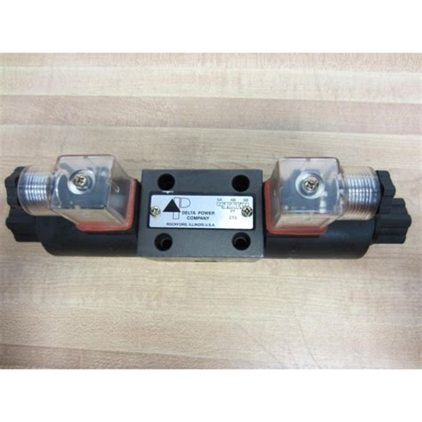 delta power company ct3 solenoid valve 2af d2 dc 24v new no box mara industrial