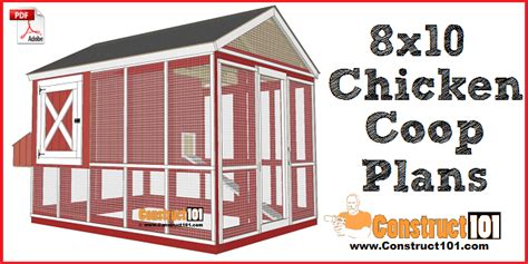 chicken coop plans gable roof   construct