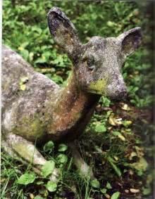 Concrete Deer Statues Garden
