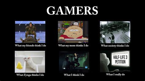 What People Think Meme - what people think gamers do kotaku australia