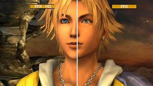 Final Fantasy X HD Graphics Comparison PS3 GameSpot