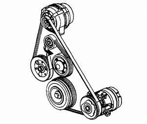 I Am Trying To Put An Alternator Belt On A 2005 Pontiac