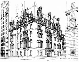 File:Jewish Museum building line drawing - b&w - 600 ppi ...