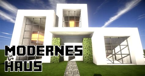 Minecraft Modernes Großes Haus Bauen 15x13 Tutorial