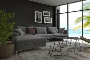 graue wand wohnzimmer graut ne kombiniert graue wand graues sofa grauer teppich
