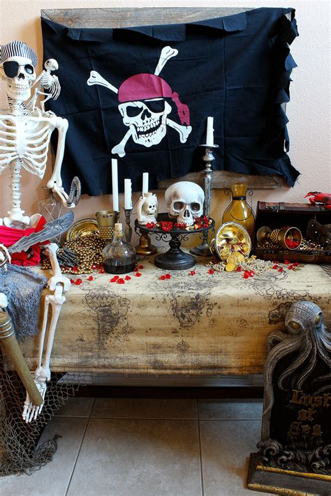Spooky Pirate Party Decorations  Michelle's Party Planit