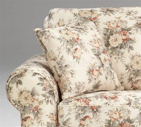 Pattern Loveseat by Floral Pattern Fabric Traditional Sofa Loveseat Set