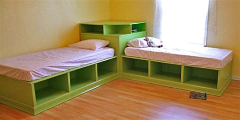Corner Hutch Plans For The Twin Storage Beds
