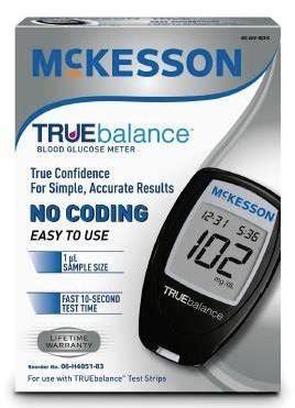 Amazon.com: McKesson TRUEbalance Blood Glucose Meter