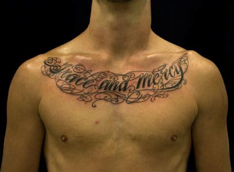 chest tattoos  men quotes quotesgram