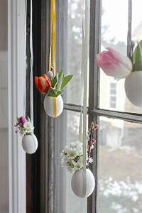 Fensterdeko Hängend Selber Machen : dekoideen ostern ostereier aufh ngen eierschalen fensterdeko pots de fleurs pinterest ~ A.2002-acura-tl-radio.info Haus und Dekorationen