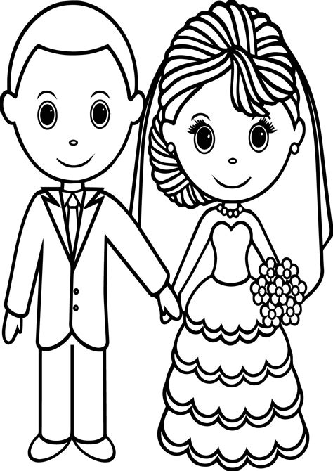 wedding coloring pages  printable  coloring sheets