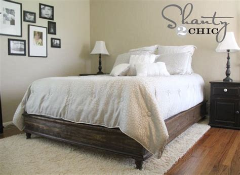 17 Best Images About Farmhouse Bed Frames On Pinterest
