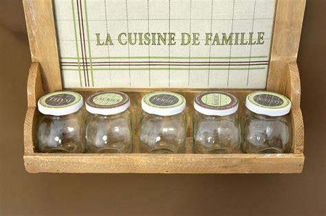 la cuisine de az la cuisine de famille regał na przyprawy z tablicą magnetyczną