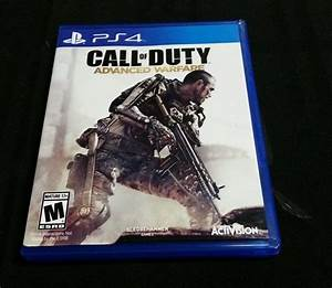 Replacement Case (NO GAME) CALL OF DUTY ADVANCED WARFARE ...
