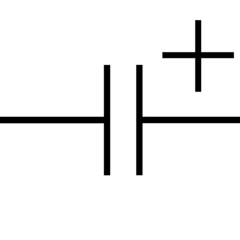 file polarized capacitor symbol 2 svg wikimedia commons
