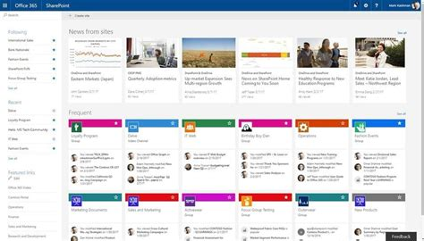 Office 365 News by Collaboration Portals In Office 365 New Signature