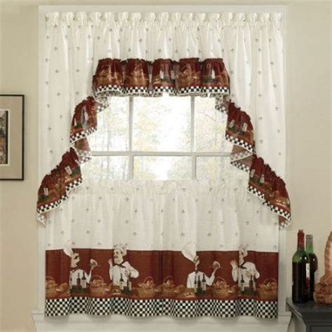Chef Bistro Kitchen Curtains 17 best ideas about chef kitchen on asian wine