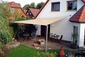Sonnensegel Befestigen Pfosten : sonnensegel terrasse hohmann sonnenschutz ~ A.2002-acura-tl-radio.info Haus und Dekorationen