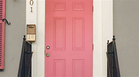 Door Pink & This Marylebone Door Has A Killer Combo Of The Small Bathroom Ideas 20 Of The Best Tile For Floor And Shower Designs Tiles Your Classic Green Tiled Menards